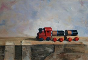 Toy Train by NR43