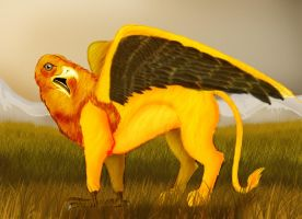 Griffin by Dragon-eyed-one