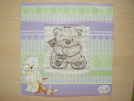 Lickle Ted Cross Stitch by SarAnna2195