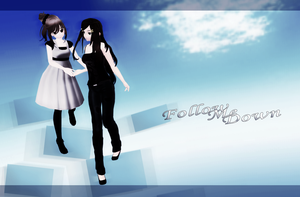 Follow me down [MMD] by Deiroko