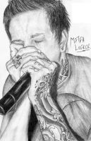 Mitch Lucker - Suicide Silence by JamieHargrave