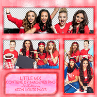 Little Mix Shoot Sports Relief - NeonLightsPNG'S by SoffMalik