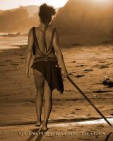 She just walked away by Quixotegraphics