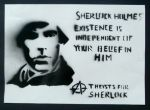 Why Believe in Sherlock?: Poster 1 by Graphitekind