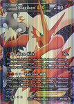 Blaziken FA EX : Full Art Secret Rare : EX HR by Victini-EX