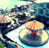 above Navy Pier by KmSwede