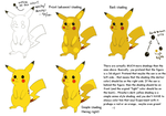 Coloring and shading Pikachu by koda-soda