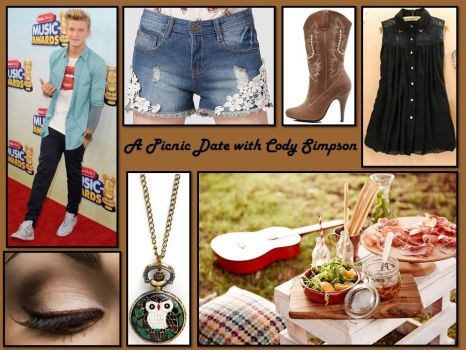 A Picnic Date with Cody Simpson by lovevampireboys
