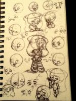 Marionette Sketches by DreamingMystic
