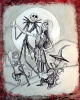 Nightmare before christmas by Darkmoonlilly