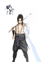 Sasuke render by v1ctim