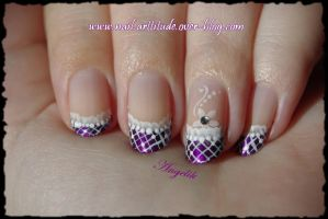 French purple lace by Angelik23