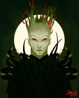 Nightmare Courtier by Katephos