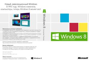 Windows 8 Consumer Preview DVD Cover (ru-RU) by Misaki2009