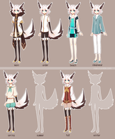 Shion's Outfits by niaro