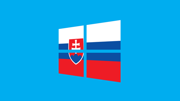 Windows 8 with Slovak flag by pavelstrobl