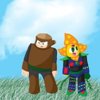 Plantman and Woodman by superzapdos21