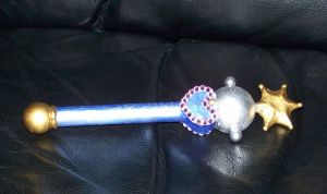 Sailor Pluto Henshin Stick by SailorMaat