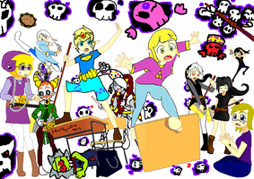 Rockin' Out Collab~ :COMPLETE: by Ask-Dark-Toon-Link