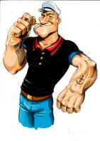 popeye the sailorman by Trebbien