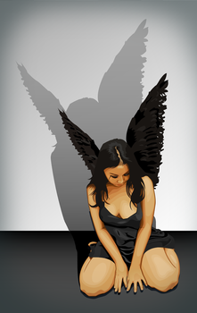 Black Wings by LyriquidPerfection