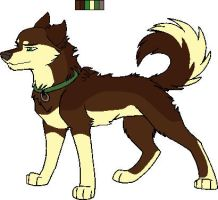 Me as a Husky by Wildfire-Tama