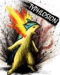 Typhlosion by sudro