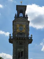 Clock tower by photodash