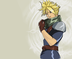 Cloud Strife .::. Crisis Core by LyraAbyss