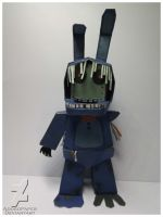 five nights at freddy's 2 old bonnie papercraft by Adogopaper