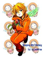 SP: Kenny  -Happy Birthday- by youheidan