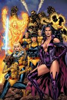 New Mutants Forever by GURU-eFX
