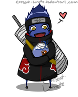 Chibi - Kisame by cresent-lunette
