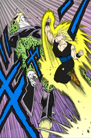 Gohan Uppercut by Kuroichigo-the-lilty
