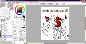 emo sarah so far by rouge2t7