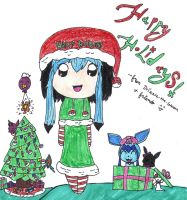 Happy Holidays by Drizzle-The-Glaceon