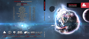 PsyFactor Album CD Cover by sashander