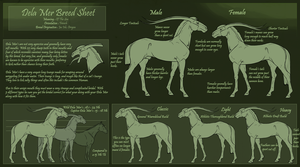 Dela Mer Breed Sheet by ArvinDax