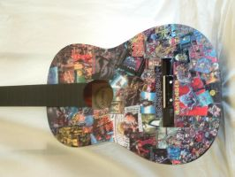 Iron Maiden Guitar by oche