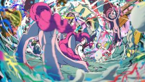 Fighting is Magic: Pinkie Pie by Yoka-the-Changeling