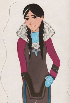 Inuit Anna by SilverSparrow75