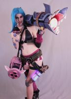 Jinx cosplay - Let's just behave... by YumeLujury