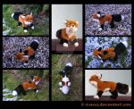 Plushie Commission: Philosopher the Fox by Avanii