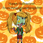 Happy Halloween 2014! by Penguinanthrogirl99