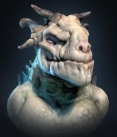 Horns! - SpitSculpt 45min by CRYart-UK
