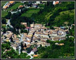 ALBACINA DI FABRIANO (AN) - SIGHT OF THE TOWN by MarcoLorenzetti