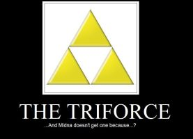 The Triforce by PrincessTwili