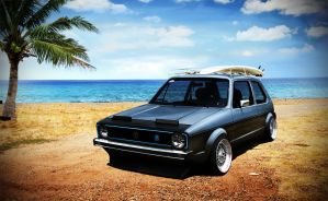 VW Golf 1 by Marko0811