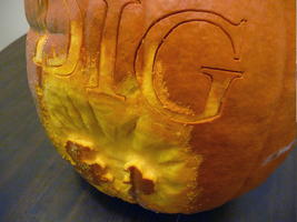 The Dig Pumpkin Detail by ceemdee