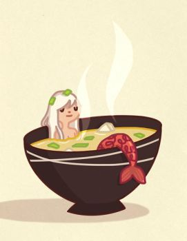 Miso Mermaid by AnnekaTran